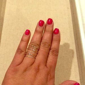 Gwen wrap ring silver